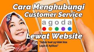cara menghubungi customer service agoda lewat website | how to contact Agoda's customer service