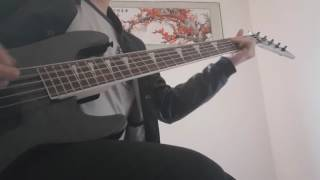 Evergrey-December 26th  (Bass cover)