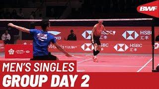 Group B | MS | CHEN Long (CHN) vs. Anthony Sinisuka GINTING (INA) | BWF 2019