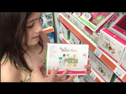 TOYS'R'US SHOPPING! AMERICAN GIRL WELLIE WISHERS IN STORE!! | INtoyreviews
