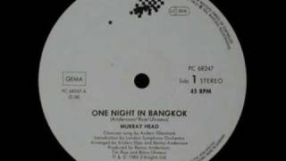 Murray Head   One Night In Bangkok (Extended Mix).wmv