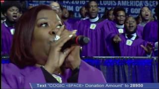 COGIC C.H Mason Mass Choir 109th Official Day Sunday Presiding Bishop Blake!
