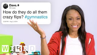 Olympian Dominique Dawes Answers Gymnastics Questions From Twitter   Tech Support   WIRED