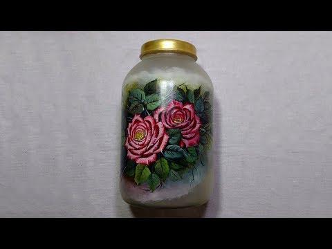 Rosas em Vidro