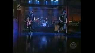 Blink 182 - The Rock Show [Letterman 2001][HQ]