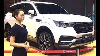 The largest luxury Chinese SUV Zotye T500 2018