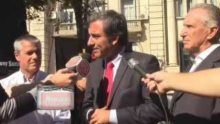 """NUESTRAS VOCES / Oscar """"Cachi"""" Martínez, Precandidato a Gobernador de Santa Fe"""