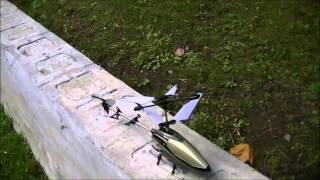 Silverlit Sky Eagle RC Helicopter  Out Door Flight And Final Thoughts