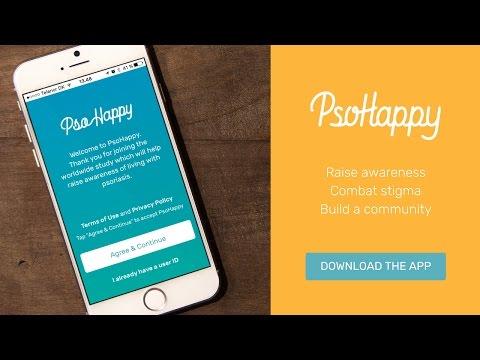 Видео PsoHappy - Psoriasis study