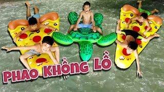 Tony   Thử Chơi PHAO KHỔNG LỒ Trên Sông - Float Battle