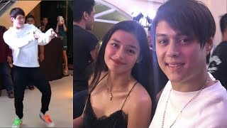 Liza Soberano and Enrique Gil | King & Queen of the Gil enjoying Action 360 performance!