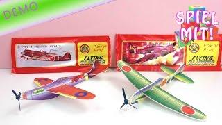 Kult Styroporflieger - Power Prop Flying Gliders Flugzeuge aus Styropor