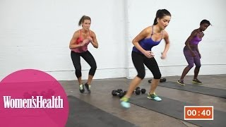 Quick Workout: The 5-Minute Workout That Will Kick Your Butt from Women's Health by Women's Health