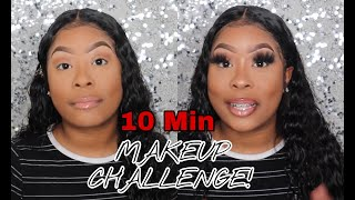 10 MIN MAKEUP CHALLENGE! | Did I Beat The Clock?🥴