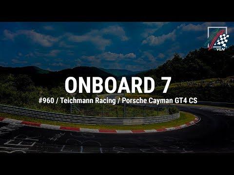 Onboard 7: #960 / Teichmann Racing / Porsche Cayman GT4 CS
