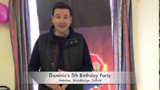Dominic's 5th Birthday Party