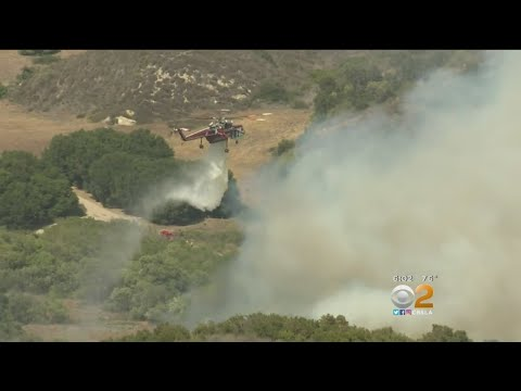 Brush Fire Prompts Evacuation Orders In Laguna Beach Mp3