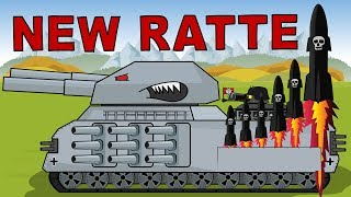 """""""Tank RATTE 3000 the Warrior of Armageddon""""   Cartoon about tanks"""