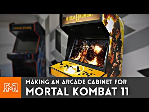 Making an Arcade Cabinet for Mortal Kombat 11