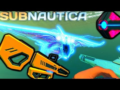 Subnautica - ROCKET BASE SPAWNS? BABY GHOST LEVIATHAN
