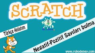 Scratch negatif-pozitif sayı