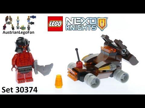 Vidéo LEGO Nexo Knights 30374 : La catapulte de lave (Polybag)