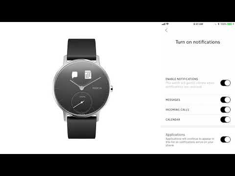 Withings Steel HR (36mm, Edelstahl)
