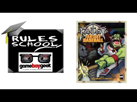 How to Play Fantasy Fantasy Baseball (Rules School) with the Game Boy Geek