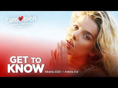 🇦🇱: Get To Know - Albania 2020 - Arilena Ara
