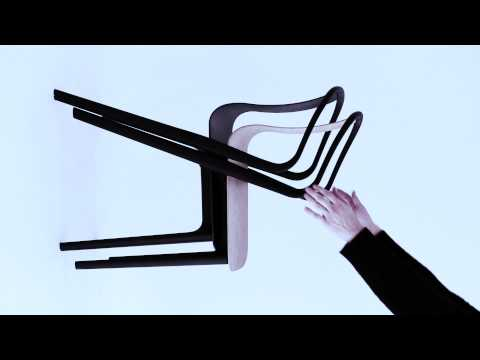Belleville chairs by Vitra