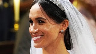 Here's Why The Internet Freaked Out Over Meghan Markle's Wedding Hair - Video Youtube