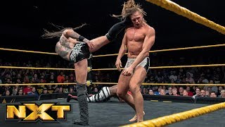 Black Vs. Ricochet Vs.  Dream Vs. Riddle Vs.  Cole   Fatal 5 Way Match: WWE NXT, Mar. 20, 2019