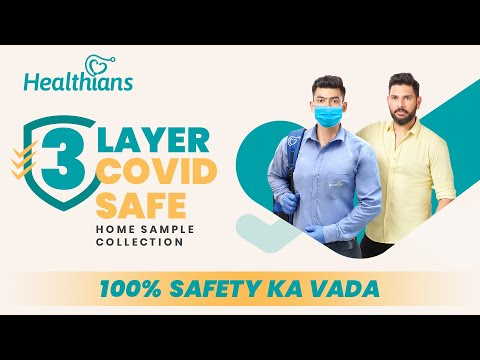 Healthians - Safest Home Sample Collection For Health Tests