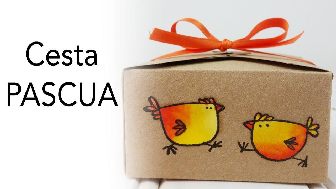 Cesta de Pascua | Detalle para regalar