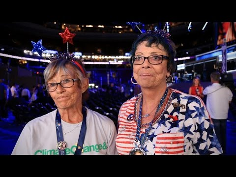 Clinton delegates react to Bernie Sanders' big speech at the DNC