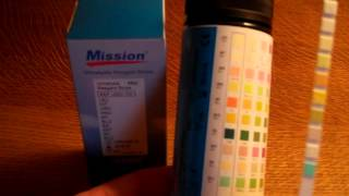 10 parameter urinalysis test strip review Mission urine testing strips