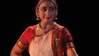 Bharatanatyam performance by Rajashree Warrier based on a Swathi Thirunal's composition