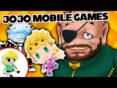 JoJo Mobile Games – EX REVIEW!!!