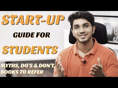 Business Start-Up guide for Students | Entrepreneurship Myths, Do's and Don't