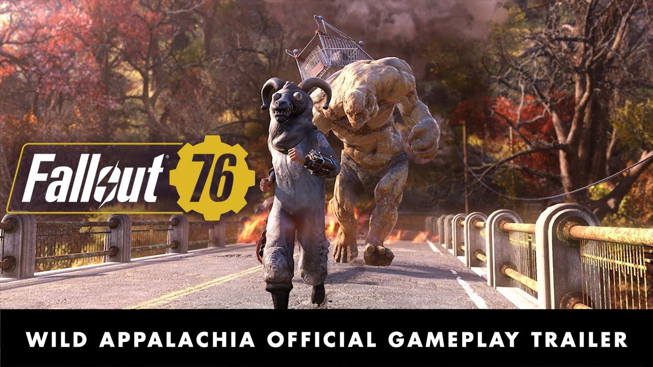 Fallout 76: Wild Appalachia Official Gameplay Trailer