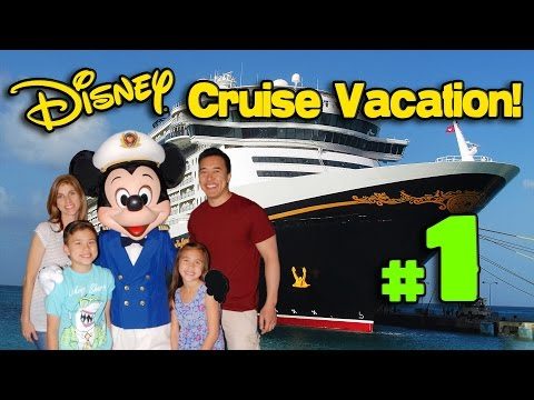 The DISNEY CRUISE ADVENTURE Begins!!! PART 1 – Heading to Florida! In 4K