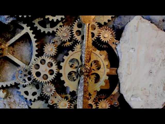 zegar ścienny vintage