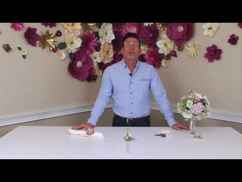 DIY Wedding Accessories & Décor with David Tutera | Sizzix DIY Kit