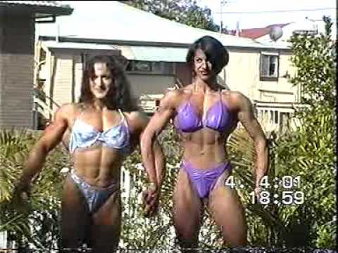 , title : 'Christine Envall : one of the biggest female bodybuilder'