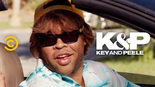 "A man struggles to get insurance information from the guy who rear-ended his car.   About Key & Peele:  Key & Peele showcases the fearless wit of stars Keegan-Michael Key and Jordan Peele as the duo takes on everything from ""Gremlins 2"" to systemic racism. With an array of sketches as wide-reaching as they are cringingly accurate, the pair has created a bevy of classic characters, including Wendell, the players of the East/West Bowl and President Obama's Anger Translator.   Subscribe to Comedy Central: https://www.youtube.com/channel/UCUsN5ZwHx2kILm84-jPDeXw?sub_confirmation=1  Watch more Comedy Central: https://www.youtube.com/comedycentral  For more original comedy, check out  @Comedy Central Originals: https://www.youtube.com/channel/UCNVBYBxWj9dMHqKEl_V8HBQ?sub_confirmation=1    Follow Key & Peele: Facebook: https://www.facebook.com/KeyAndPeele/ Twitter: https://twitter.com/keyandpeele Watch full episodes of Key & Peele: http://www.cc.com/shows/key-and-peele  Follow Comedy Central: Twitter: https://twitter.com/ComedyCentral Facebook: https://www.facebook.com/ComedyCentral/ Instagram: https://www.instagram.com/comedycentral/"