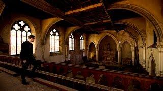 ABANDONED CATHOLIC GIRLS SCHOOL - Church Inside