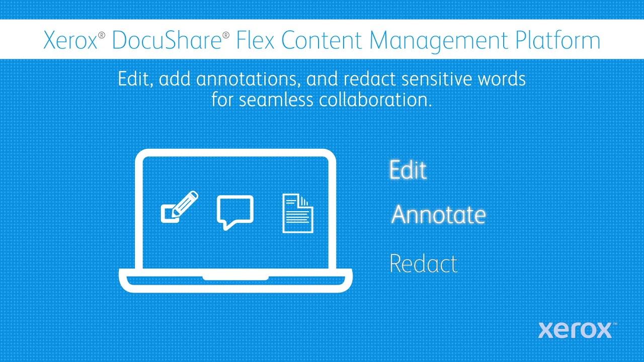 Xerox DocuShare Flex: Work Within Reach YouTube Videó