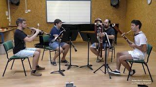 Rainer Bartl, Pergolesi-Variationen für Oboe, Englischhorn, Fagott und Kontrafagott
