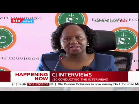 DAY 2 OF CJ INTERVIEWS: Professor Kameri Mbote now on the Hot Seat