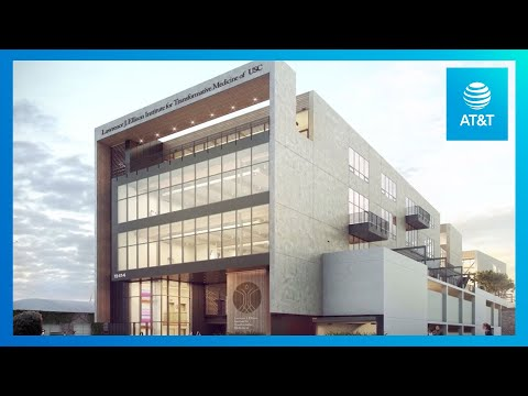 AT&T Serves As a Technology Provider for USC's Ellison Institute | AT&T-youtubevideotext